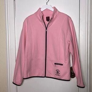 G Gear pink full zipper jacket size XL